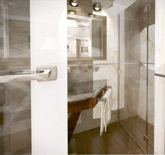 MS Invictus Bathroom