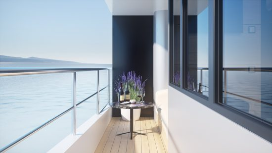 MS Symphony - Balcony (Artists Impression)