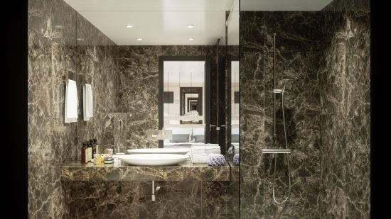 MS Symphony - Bathroom (Artists Impression)