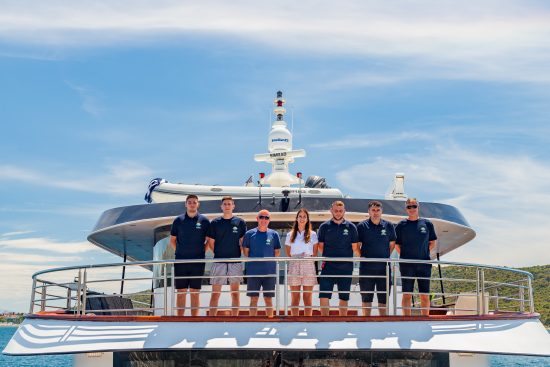The amazing crew behind the exceptional hospitality and service onboard MS New Star